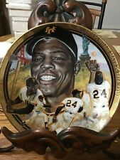 Willie Mays From The Hamilton Collector Plate