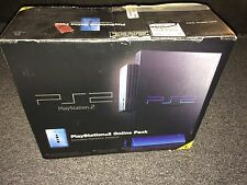 Sony Playstation 2 Rare PS2 Online Pack Console System Network Adapter Box IOB