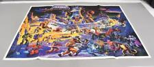 32 x 23 He-Man Eternia Vintage Poster 1986 MOTU Masters of the Universe