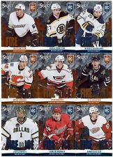 37 different 2013-14 Panini Select Hockey Fire on Ice Rookies RC Card Lot