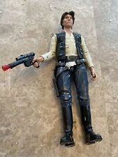 "2013 Disney Store Talking Han Solo Figure, 13"", Working, Talks, Gun Lights Up"