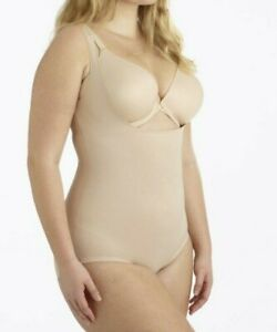 Miraclesuit Bodyshaper Plus 1XL Nude Wear Your Own Bra Torsette Bodybriefer 2930