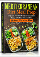 Mediterranean Diet Meal Prep – Easy and Healthy Eb00k/PDF - FAST Delivery