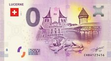 Billet Touristique 0 Euro - Suisse - Lucerne - 2018-1