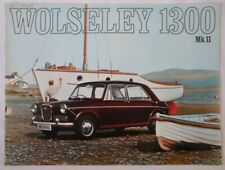 WOLSELEY 1300 MK.II SALOON orig 1969 UK Mkt Sales Brochure - #2586/C