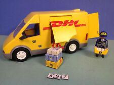 (K97) playmobil camion de la poste DHL ref 4401 4400