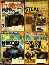 Popular Photography & Imaging Magazine Back Issue LOT 2006/2007 Pro Digital Tips