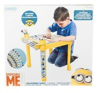 Despicable Me Minions Colouring Creative Drawing Painting Art Table Desk NEW