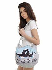 Disney The Little Mermaid Princess Ariel Movie Kiss Girl Hobo Bag Purse Bag Tote