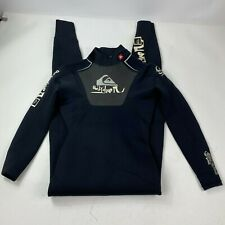 New listing Quiksilver Syncro Hyperstretch Black Wetsuit Size Medium 50 Back Zip