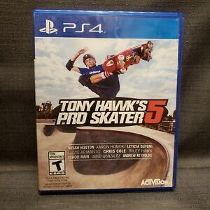 Tony Hawk Pro Skater 5 - Standard Edition (PlayStation 4, 2015) PS4 Video Game