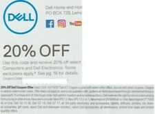Dell 20% Coupon Code - Select Computers & Dell Electronics - Expires 10/19/2020