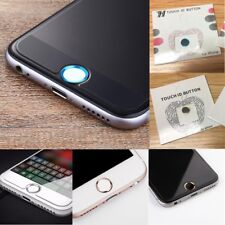 TOUCH ID Metal Home Button Sticker For iPhone 7 6 6s 5s Plus & iPad UK SELLER