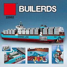 Creator MAERSK LINE TRIPLE-E Container Ship Building Toys Blocks 1518PCS #22002