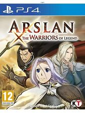 ARSLAN : THE WARRIORS OF LEGEND - PlayStation 4 Game - New & Sealed -  Christmas