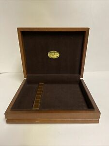 Vintage Cutco Steak Knife Wooden Box ONLY Vintage Wood Case Storage
