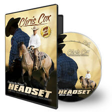 Creating the Natural Headset - Chris Cox - 2 DVDs BOXED horse training dvd