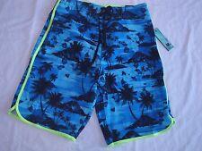 Burnside Men's Stretch Board shorts/Swimwear Size:30 $42 Color Black/Yellow/Blue