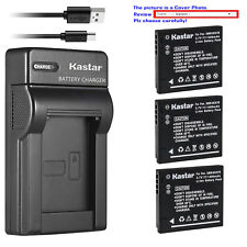 Kastar Battery Slim Charger for Panasonic DMW-BCK7 DE-A92 & Lumix DMC-FH4 Camera