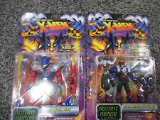 X-Men Mutant Armor Series Heavy Metal Beast Battle Armor Wolverine Lot