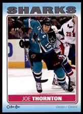 2012-13 O-Pee-Chee Stickers Joe Thornton #S-80