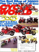 Cycle World Magazine July 2000 3x3 Special All-Comparison Issue