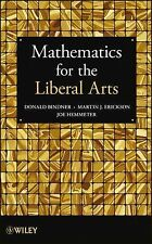 SH705-6 * MATHEMATICS FOR THE LIBERAL ARTS, STUDENT EDITION, 2013