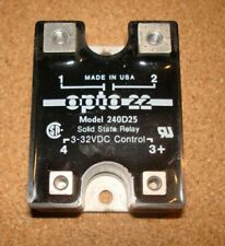Opto22 240D25, 25 Amp Solid State Relay, Used, Tested
