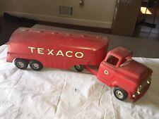 Vintage Buddy L Toys Texaco Tanker Truck - Pressed Steel