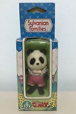 SYLVANIAN FAMILIES Calico Critters PANDA BROTHER Fratello TOMY NEW MIB VINTAGE