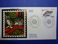 LOT 12771 TIMBRES STAMP ENVELOPPE EUROPE CEPT FRANCE ANNEE 1986