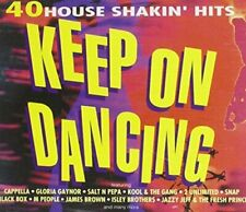 Keep on Dancing (Dino) Jazzy Jeff, Salt-N-Pepa, Dr Alban, Snap, Black B.. [2 CD]