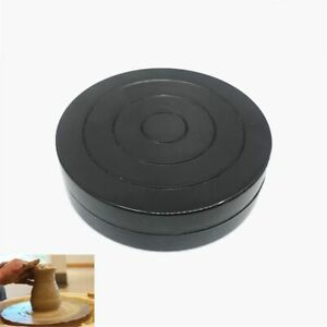 Pottery Turntable Clay Wheel Turning Sculpture Tool Plastic 360° Rotary Plate-