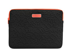 "Marc by Marc Jacobs 15"" Laptop Case Sleeve Scrambled Logo Black NEW"