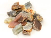 Multi Colored Moonstone Rough 1/2 lb Lot Zentron™ Crystals