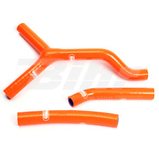 SAMCO SET MANCHON TUYAUX RADIATEUR ORANGE KTM EXC 200 2001-2007