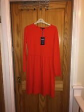 marks and spencer, Limited, Dress, Size 10, Coral, Red, Orange