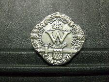 Pin Ein Reich Ein Volk Ein Gott Kaiser Wilhelm II - 3 cm