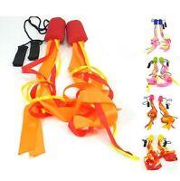 Pyro Pixies Ribbon Poi - Practice Poi Spinning - Kids or Adults Training Poi