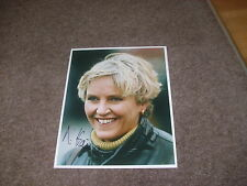 Diane HAINE  Newmarket  Horse Racing TRAINER  01/11/95  Hand SIGNED Press Photo
