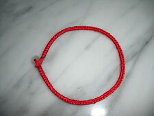 "Kabbalah lucky red string bracelet 6.5""-7""L with jade stone one size"