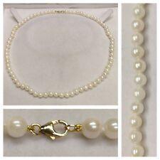 Collier Perles Or 585 obturateur PERLES COLLIER DE PERLES