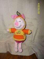 """Winnie the Pooh Piglet Hoodie Plush 10"""""""