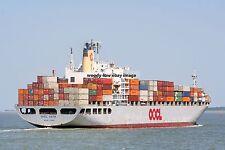 rp16071 - Container Ship - OOCL Faith - photo 6x4