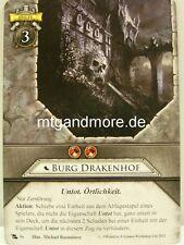 Warhammer Invasion - 1x Burg Drakenhof  #056 - Die verfluchten Toten