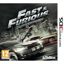 Fast and Furious Showdown Game 3DS Nintendo 3DS and 3DS XL PAL Brand New