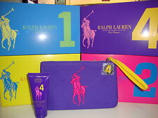 RALPH LAUREN FRAGRANCE POCHETTE THE BIG PONY FOR WOMAN PURPLE 4+ BODY LOTION