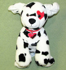 Build A Bear Dalmatian Be Mine Limited Edition Puppy Dog Floating Heart Tag 12""