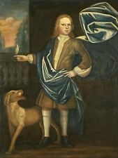 AMERICAN 18TH CENTURY BOY BEEKMAN FAMILY OLD ART PAINTING POSTER BB4821A