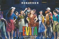 Autogrammkarte Musical Evita (Wien): Ensemble
